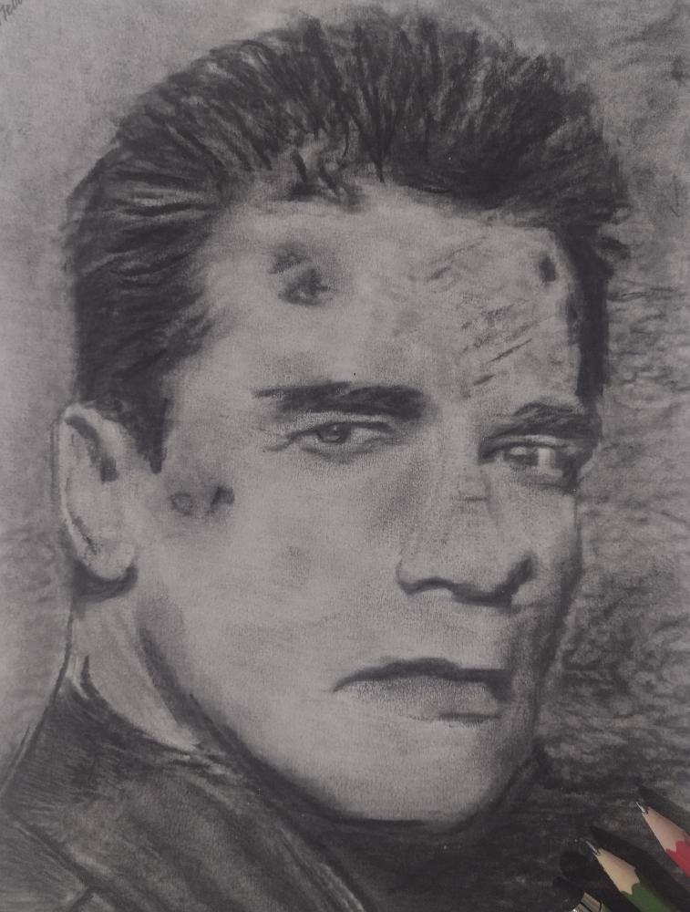 Arnold Schwarzenegger by mi7ell